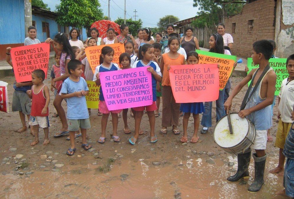 La Amazonía está en crisis: Los niños tiene una voz importante en este problema en la Región San Martín, alzan su voz y merecen ser escuchados