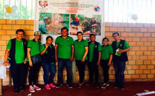 Centro Maria Elena Moyano, inaugura planta artesanal de Caucho en Chazuta-Región San Martin-Perú