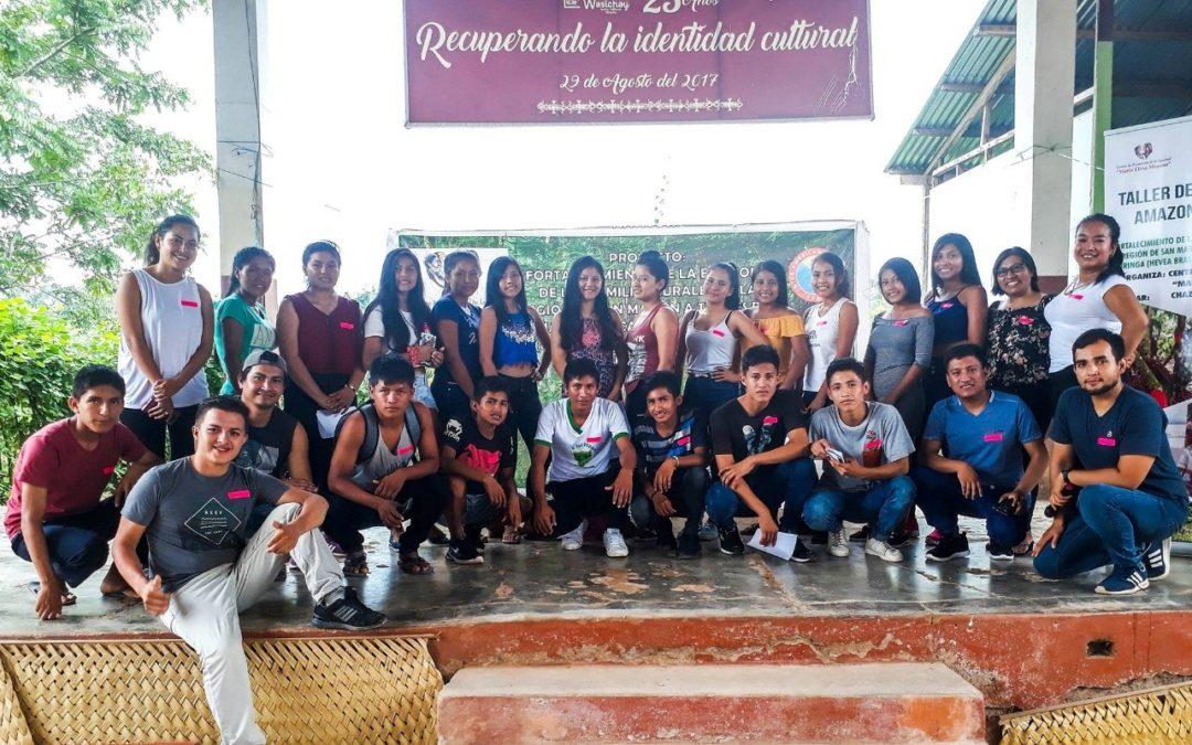 Desarrollo de capacidades para emprendimientos juveniles de la Amazonía, en Shapaja-Chazuta, Región San Martín